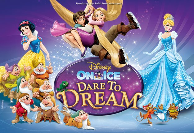 Win tickets to Disney On Ice presents Dare to Dream