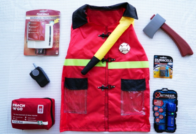 WIN 1 of 5 firefighter packs thanks to Duracell!