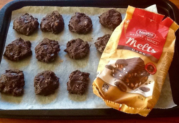 No-bake chocolate biscuits