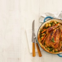 Annabel's ONE POT chicken with spring vegetables
