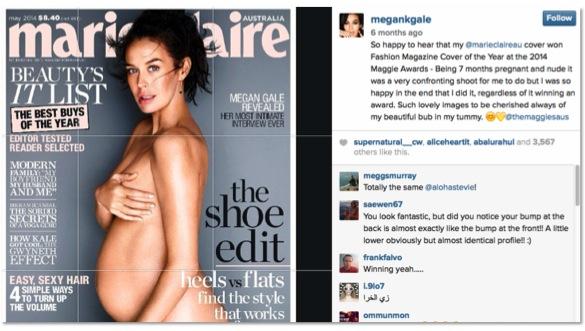 megan gale_marie claire photo shoot