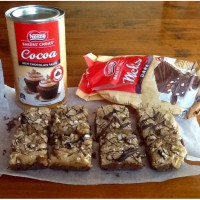 Chocolate Nut Slice