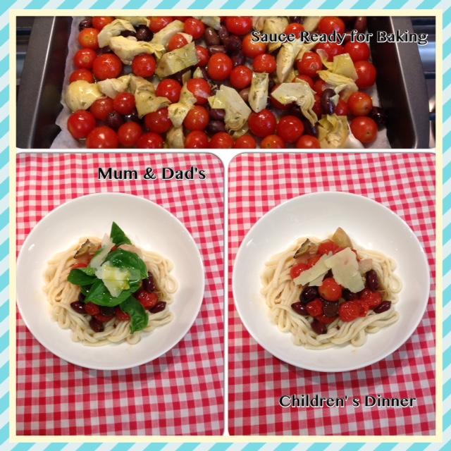Springtime Mediterranean Pasta