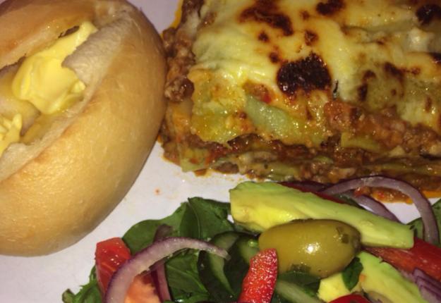 Mimi's Lasagne with a green twist