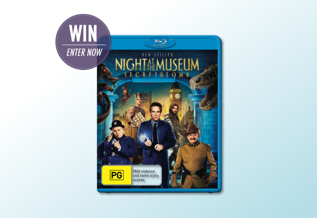 WIN 1 of 5 Night At The Museum: Secret of The Tomb prize packs!