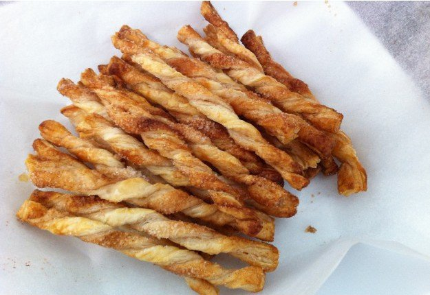 Cinnamon twistie sticks