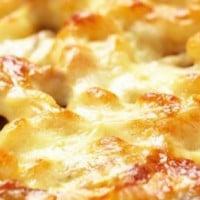Cheesy Chicken Pasta Bake