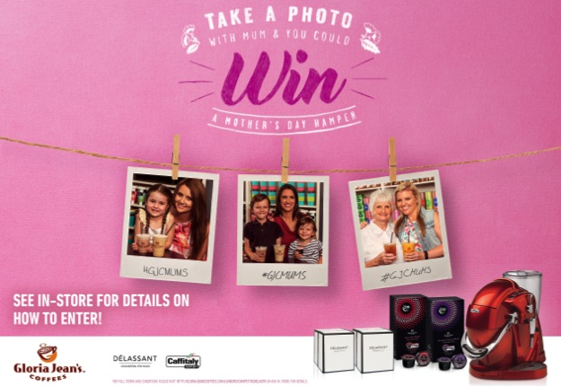 Take a photo with Mum and you could win a Mother's Day Hamper!