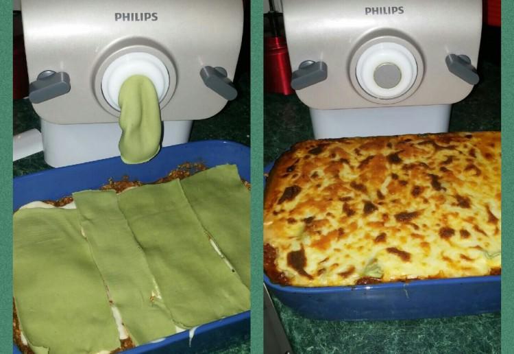 Spinach Pasta Lasagne