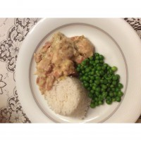 Pressure Cooked Chicken and Leek Casserole