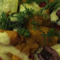 Roasted vegetables and couscous