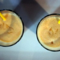 Banana honey crunch smoothie