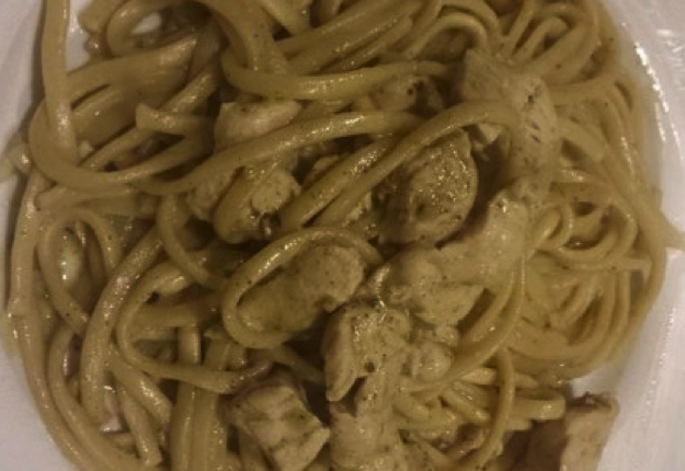 serotonin reviewed Hulk pasta