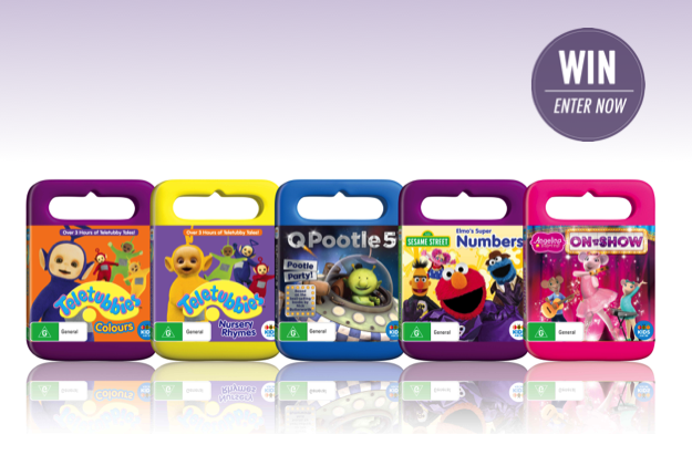 WIN 1 of 7 ABC KIDS new release prize packs