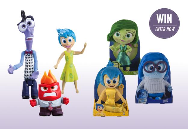 WIN 1 of 2 Disney Pixar 'Inside Out' packs!