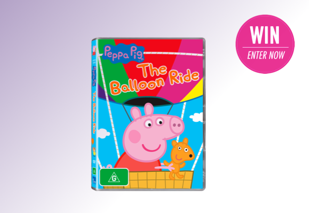 WIN 1 of 25 Peppa Pig: The Balloon Ride DVDs