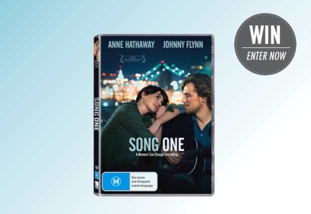 WIN 1 of 20 copies of SONG ONE featuring Anne Hathaway!