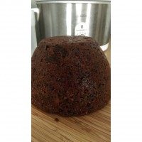 Steamed Christmas pudding