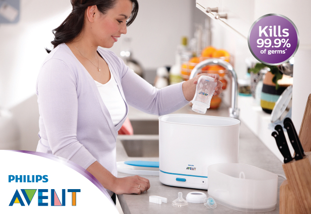WIN 1 of 2 Philips Avent 4 in 1 Sterilisers