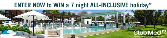 Win a 7 night all inclusive holiday_Club Med_banner 1