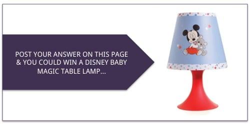 answers_win disney baby magic table lamp