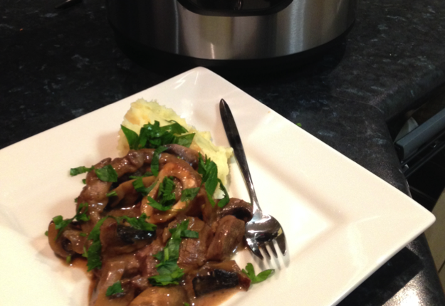 Osso Bucco with mushrooms