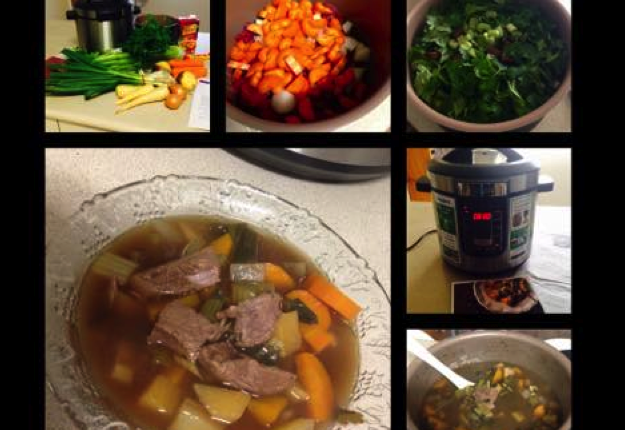 mom94125 reviewed Slow Cooked Beef Soup