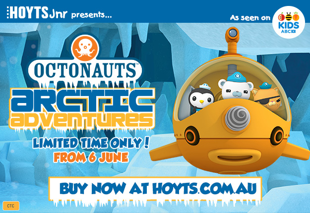 WIN 1 of 5 OCTONAUTS prize packs from HOYTS Jnr