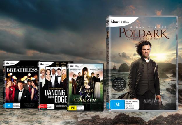 WIN 1 of 10 Aiden Turner DVD packs!