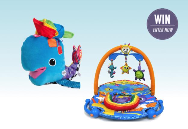 WIN 1 of 2 toy packs from Lamaze Developmental Toys