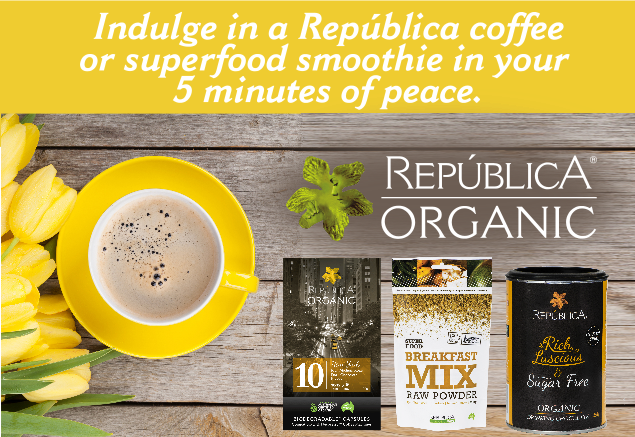 WIN 1 of 10 Republica Organic Coffee & Superfood Hampers
