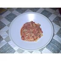 Quick fishy pasta