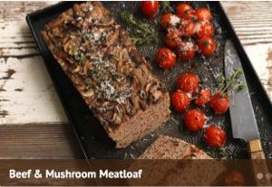 Mushrooms SP_Beef and Mushroom Meatloaf_300x207