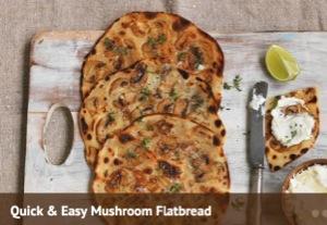 Mushrooms_Quick and Easy Mushroom Flatbread_300x207.jpg