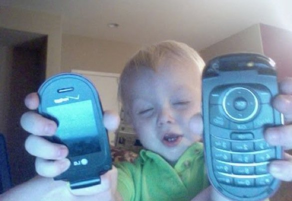 When good kids do bad things_kid with broken flip phone_585x402