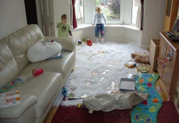 When good kids do bad things_kids with empty bean bags_585x402