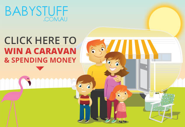 WIN a caravan PLUS spending money for you and your family!