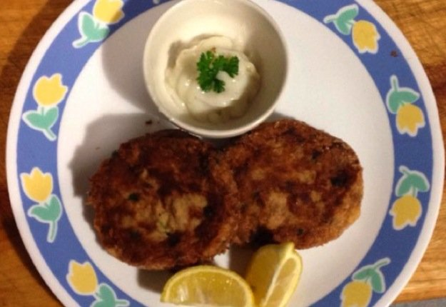 George's fishcakes
