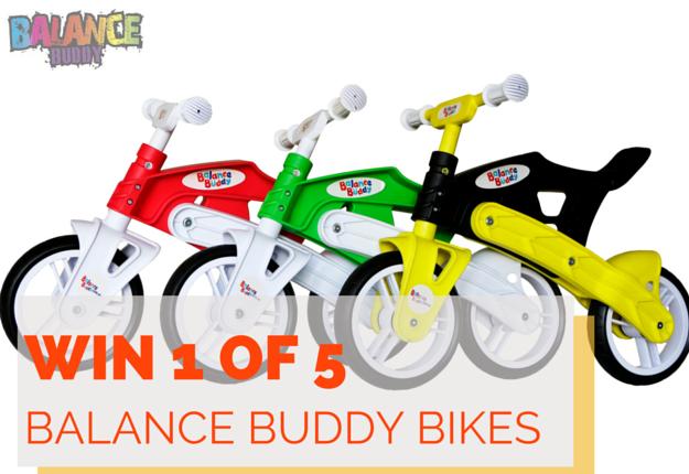 WIN 1 of 5 Balance Buddy Bikes