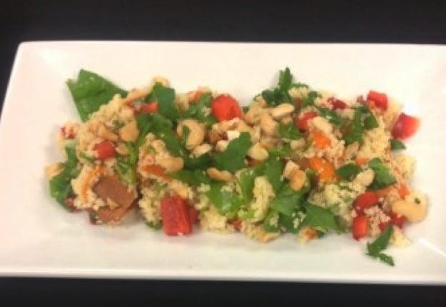 Fresh couscous salad
