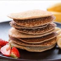 Rafferty's Blueberry, Banana & Apple Buckwheat Pancakes