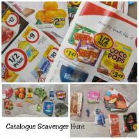 Catalogue scavenger hunt
