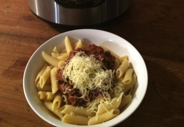 Cheat's Spaghetti Bolognese