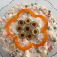 Spanish potato salad (ensaladilla rusa)