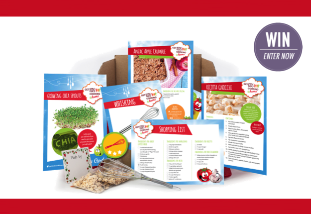 WIN 1 of 20 cooking kits from Get Kids Cooking