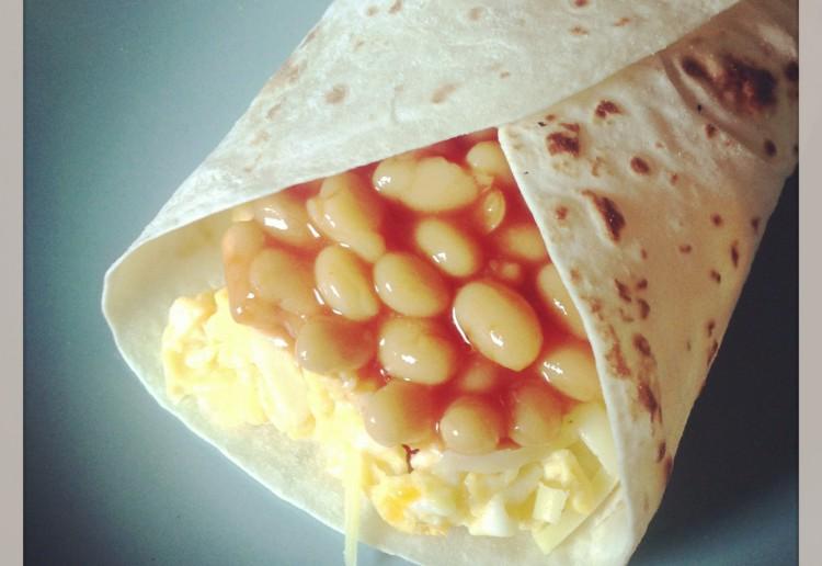 Brekky burritos