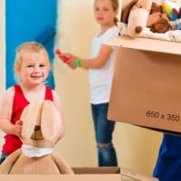 Five tips for moving house with kids