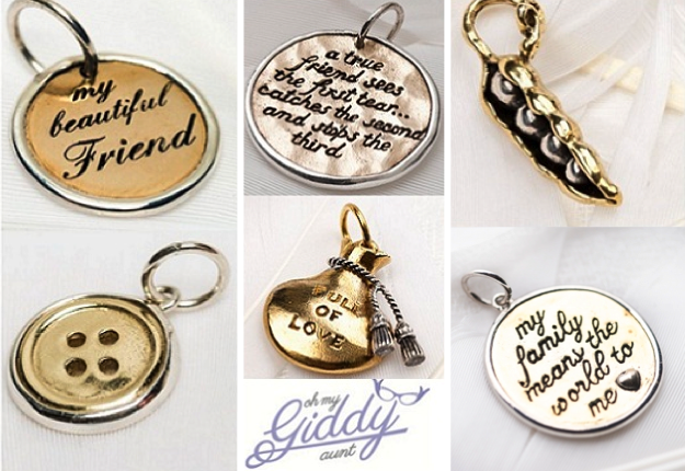 WIN 1 of 3 pendant charm collections from Oh My Giddy Aunt!