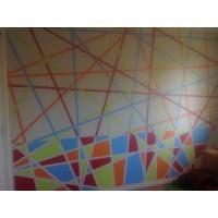 Bright, bold boys room