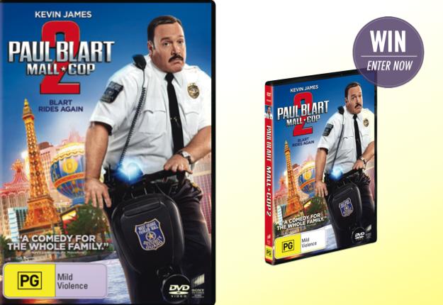 WIN Paul Blart: Mall Cop 2 on DVD!